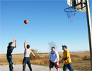 Teen Challenge Saskatchewan - Students Playing a Game of Basketball