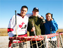 Teen Challenge Saskatchewan - Playing Hockey