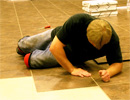 Teen Challenge Saskatchewan - TC Students Install new Floor