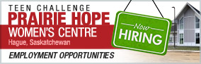 TNew Prairie Hope Women's Centre - Emplpyment Opportunities